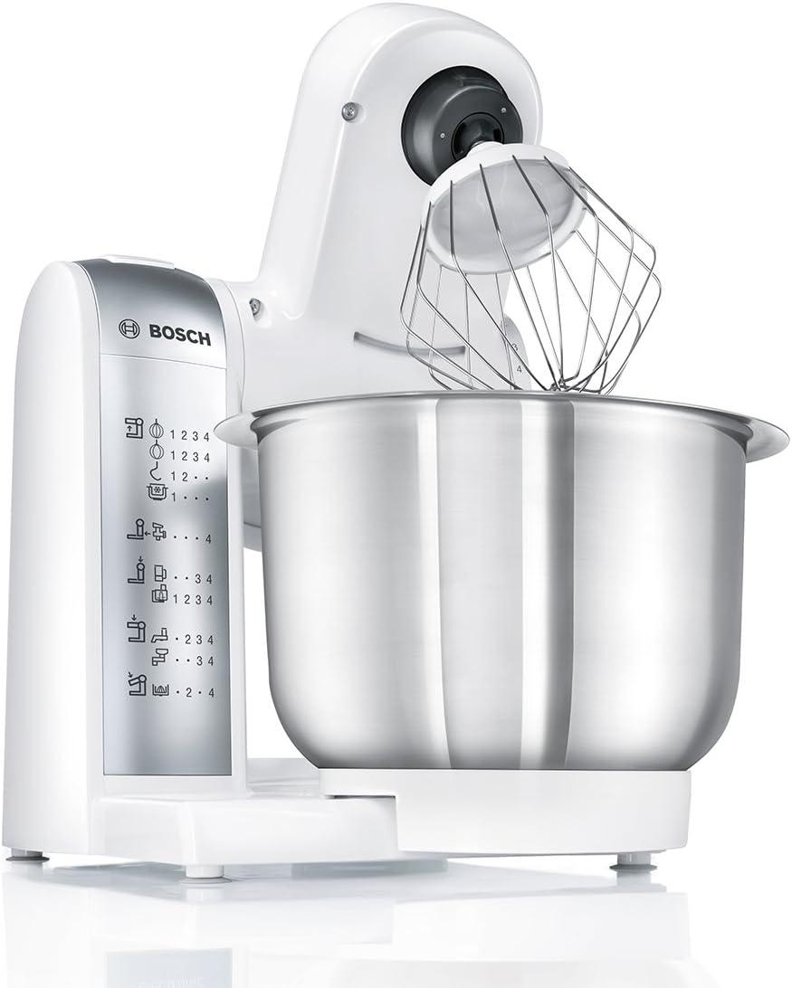 Bosch MUM4880 Robot de cocina con accesorios, 600 W, capacidad de ...