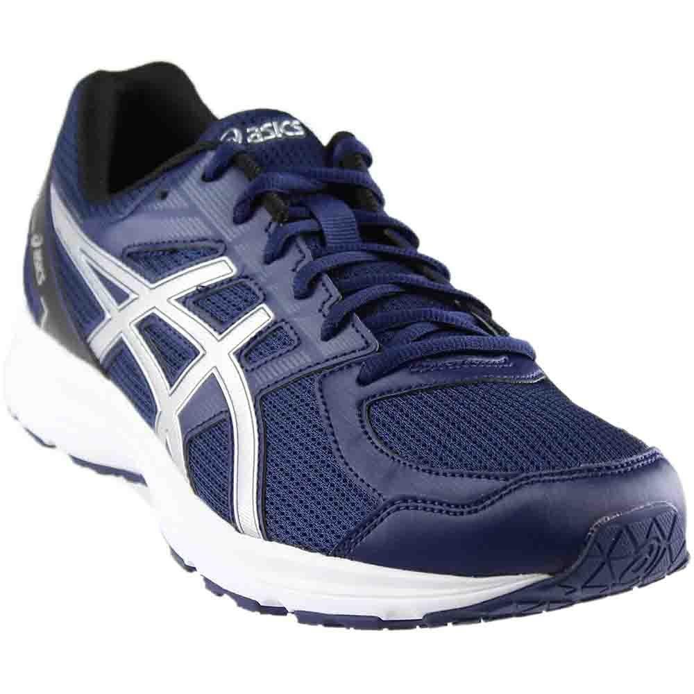 ASICS Men's T7K4N.9793 Jolt Running Shoes B073HCNG88 8 (4E)|Indigo Blue/Silver/Black