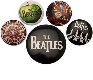 The Beatles - Pack de chapas (Talla Única) (Multicolor): Amazon.es: Ropa y accesorios