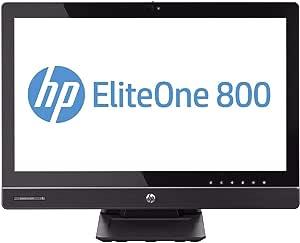 """HP Elite One 800 G1 All in One Intel i5 4570s 2.90Ghz 8Gb Ram 128Gb Solid State Drive 23"""" Full HD WiFi Wireless Webcam Windows 10 (Renewed)"""