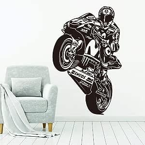 ziweipp Valentino Rossi The Doctor Motociclismo Tatuajes de Pared ...