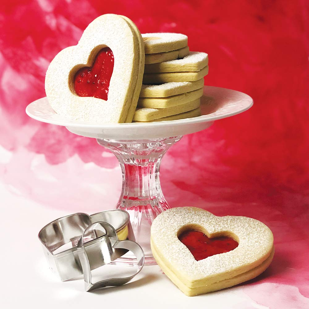 Ann Clark Cookie Cutters Extra Large Heart Cookie Cutter, 5""