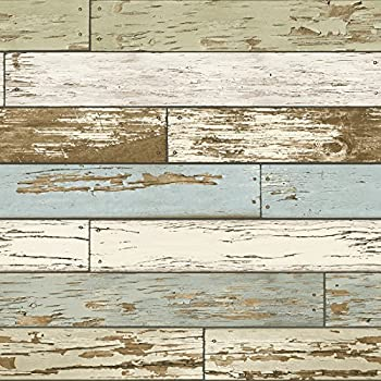 Permalink to Nuwallpaper Old Salem Vintage Wood Peel & Stick Wallpaper