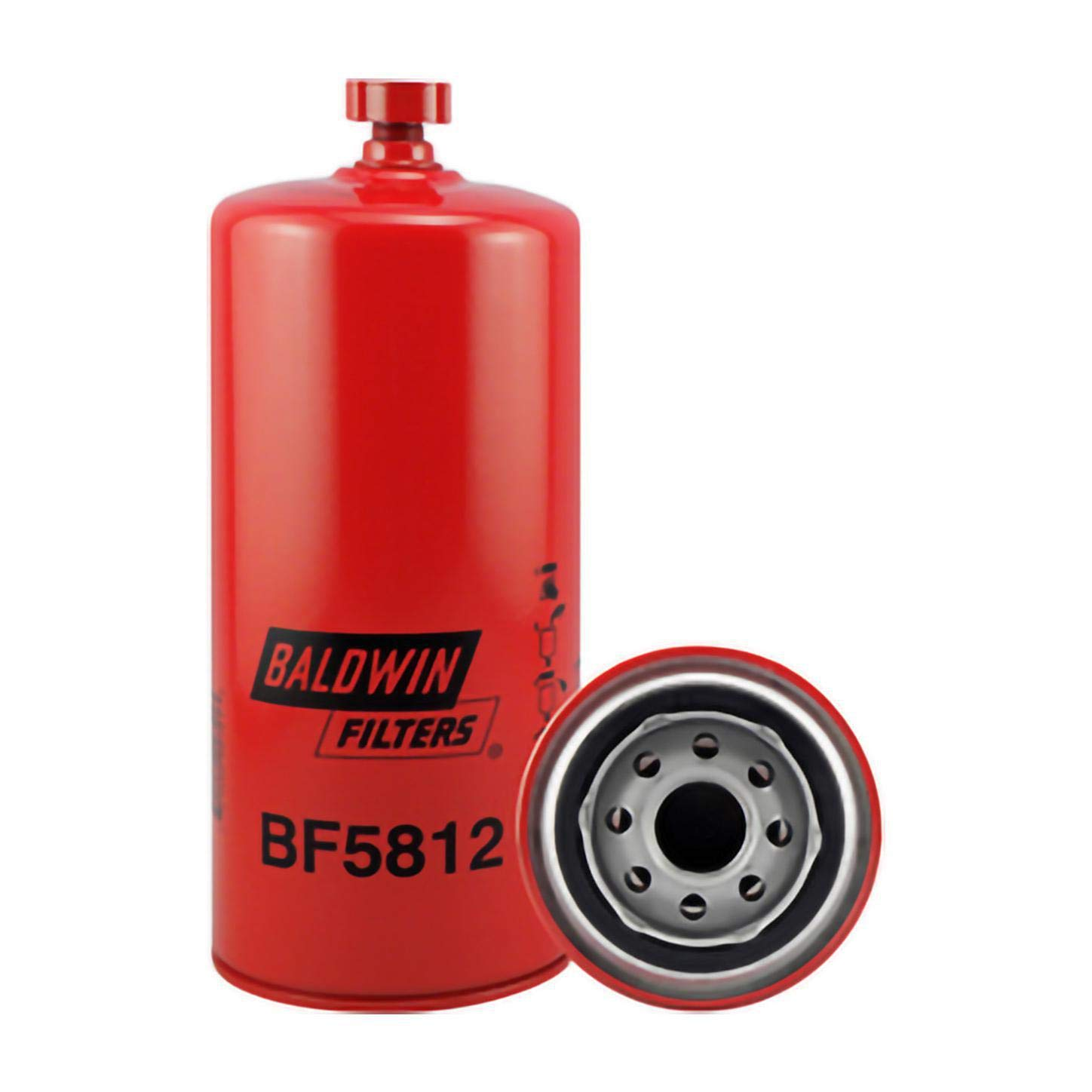 Baldwin BF5812 Primary Fuel and Water Spin-On Separator