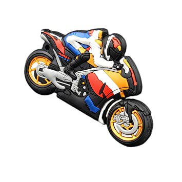 NoyoKere U Disco Pen Drive Llavero Pen Drive 8Gb 16Gb 32Gb 64Gb USB Flash Drive Motocicleta Moto Car Cartoon