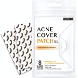 Avarelle Acne Pimple Patch (8 Count) Absorbing Hydrocolloid Spot Treatment with Tea Tree Oil, Calendula Oil and Cica, Vegan,