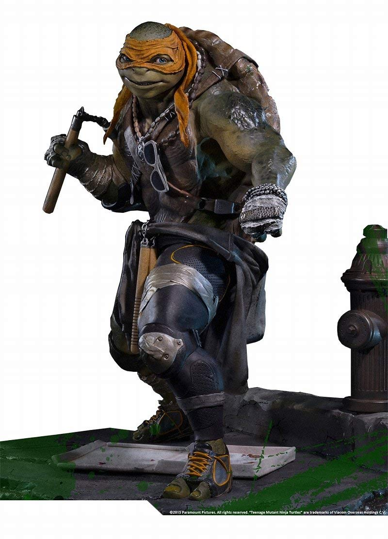 Prime 1 Studio Statue Sideshow Michelangelo Movie Teenage Mutant Ninja Turtles TMNT