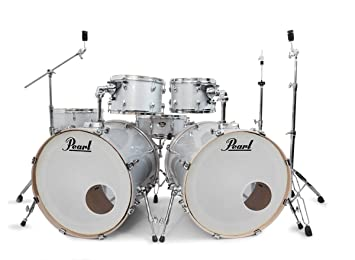 Pearl Export Arctic White Double Bass Drum Kit ROCKEM EXCLUSIVE