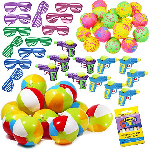 Great Summer and Party Assortment 50 pieces as illustrated sold by: Smart Novelty