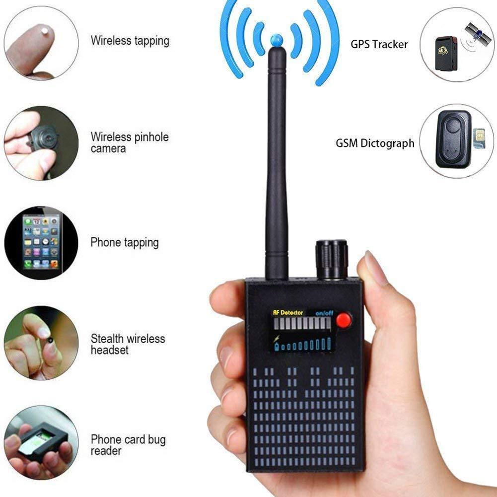 YTBLF Detector de señal Anti-espía, Detector de Audio gsm/Detector de escaneo GPS, Detector de señal Detector de Error 2g 3g 4G: Amazon.es: Electrónica