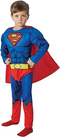 Rubies Warner - I-610781l - Disfraz para niños - Superman Lujo ...