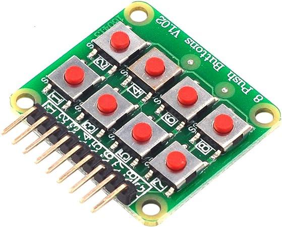 BouBou 3Pcs Micro Switch 2X4 Matrix Keyboard Teclado De 8 ...