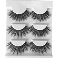 Michael&Gail 3D faux mink lash premium synthetic fiber false eyelash 3 pairs inside G-02
