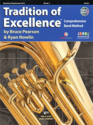 W62BC - Tradition of Excellence Book 2 - Baritone/Euphonium B.C.
