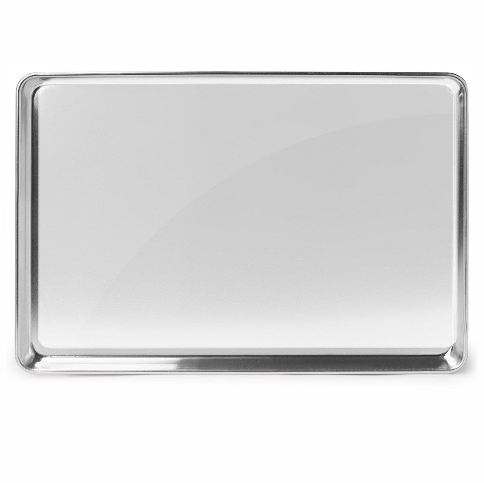 Gridmann 18 x 26 Commercial Grade Aluminium Cookie Sheet Baking Tray Pan Full Sheet - 12 Pans by Gridmann (Image #5)