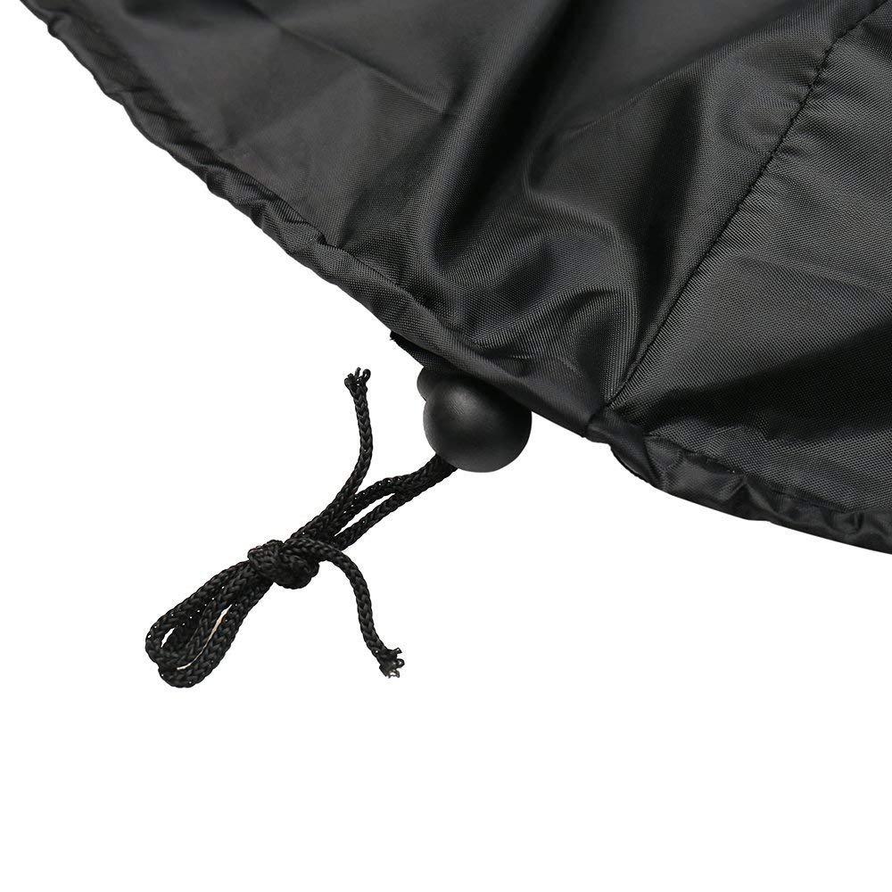 Baogu Housse de Protection pour Chauffage de Terrasse Noir 122 x 61 x 22 cm