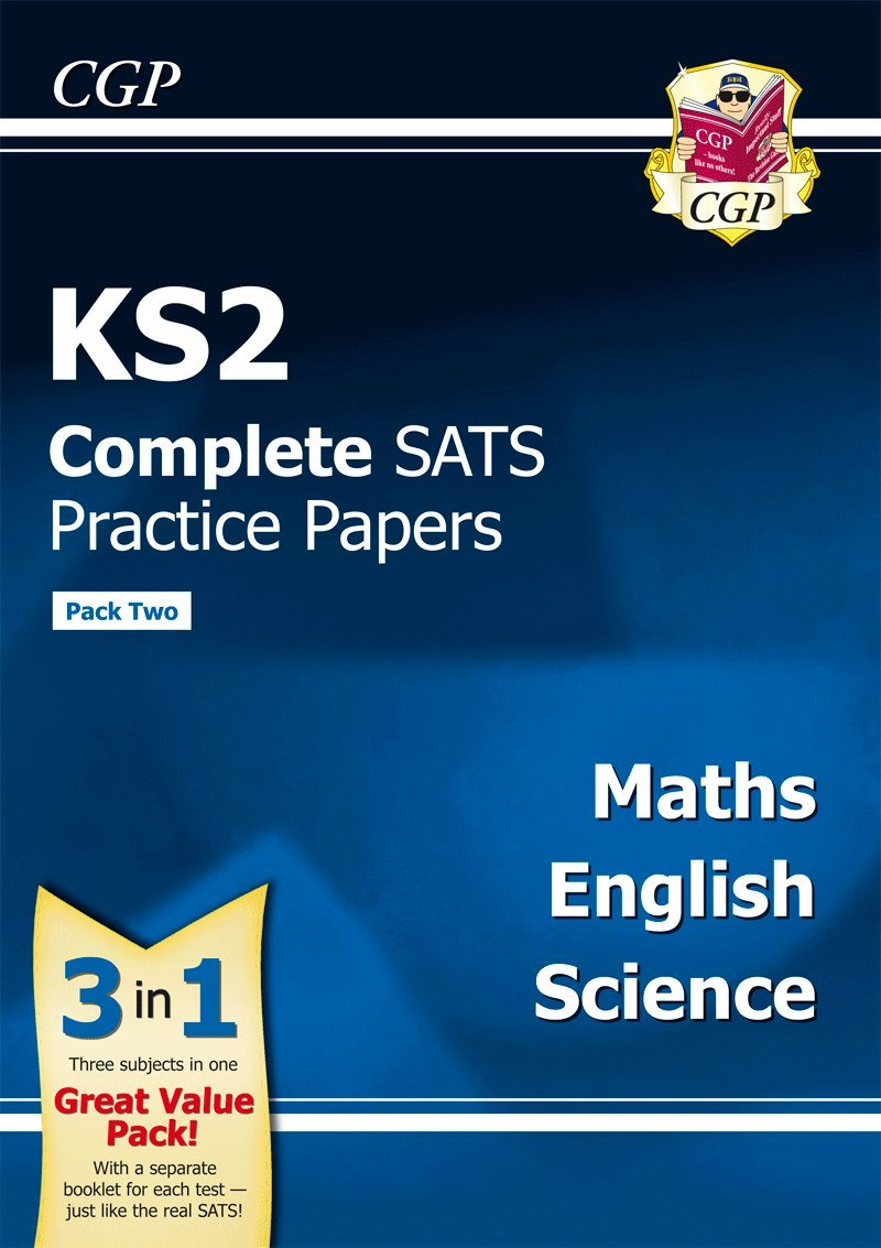 Buy KS2 Complete SATS Practice Papers: Science, Maths & English (Updated  for the 2017 Tests) - Pack 2 Book Online at Low Prices in India | KS2  Complete SATS ...