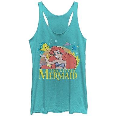 40f62e81c6020e Amazon.com  The Little Mermaid Women s Ariel Classic Racerback Tank ...