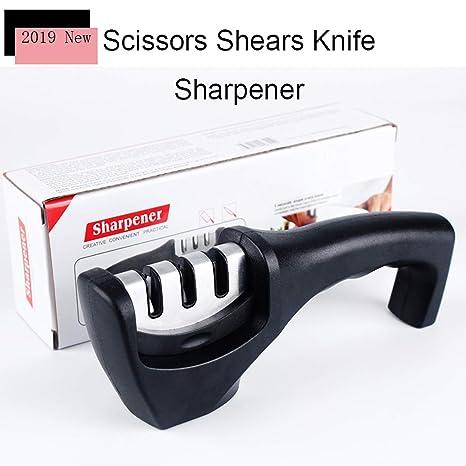 Amazon.com: Afiladores de cuchillos con cuchillo y cuchillo ...