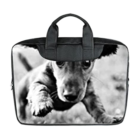 Amazon Com Bernie Gresham Cute Dachshund Dog Baby Custom Laptop Bag