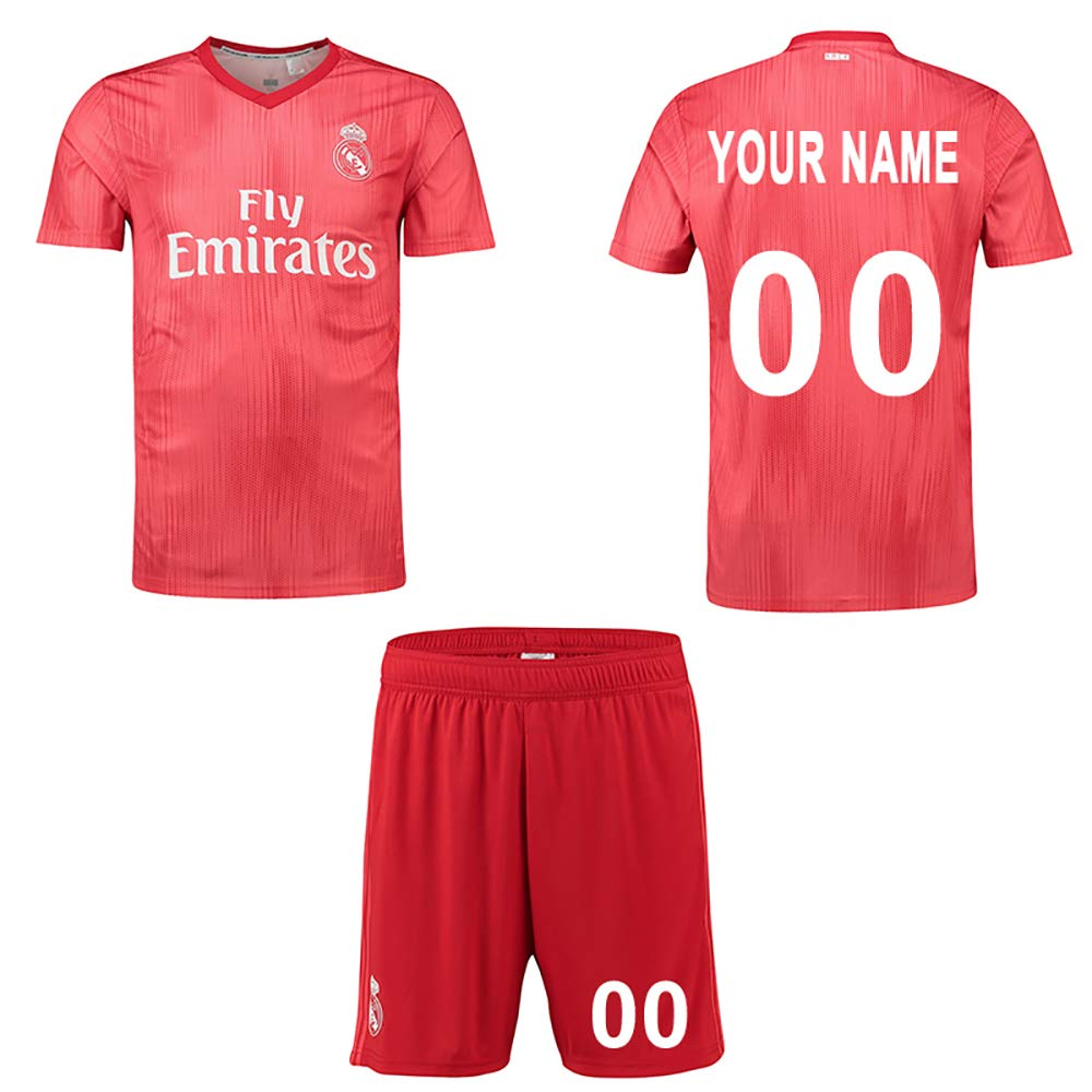 75bd1de56 Panicy 2018-2019 Personalised Arsenal Home Football Shirt Custom Soccer  Jersey Personalised with Team Name Player ...