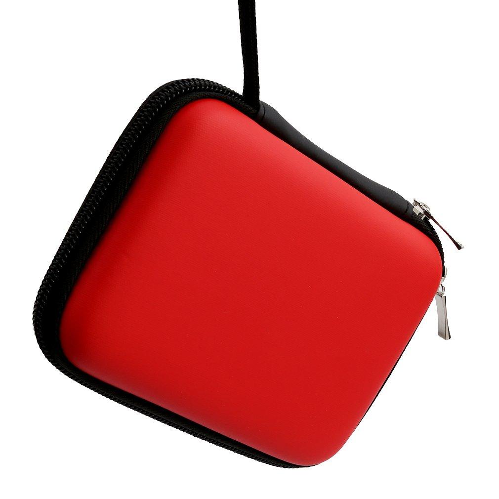 (Red) - Iumer Portable Hard Case External Hard Drive 2.5 HDD Case GPS Hard Disc Drive HDD Hard Case  レッド B072XHLDDH