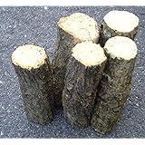 産卵木 (ナラ材) 小サイズ Bクラス(長さ約14cm)×5本セット
