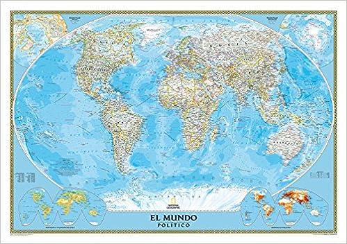 El Mundo Classic pequeño (100x70) castellano. 1:42.680.000.