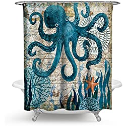 Octopus Shower Curtains