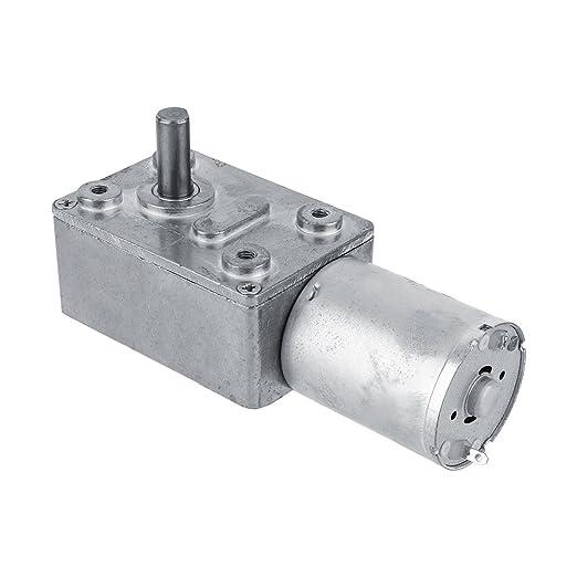 Dc 12 V 3 U Min Elektromotor Reversible Turbine Drehmomentmotor Getriebemotor Mit Schneckengetriebe Gewerbe Industrie Wissenschaft