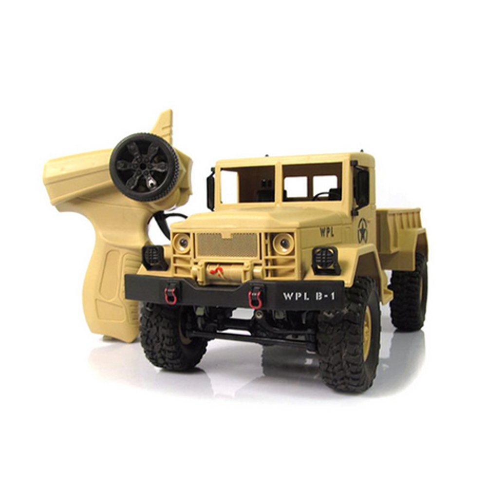 RC Military Truck 1/16 , 4WD All terrain Offroad Wireless Remote Control High Speed Crawler Cars by HongXander Toy RC Racing Car (Image #4)
