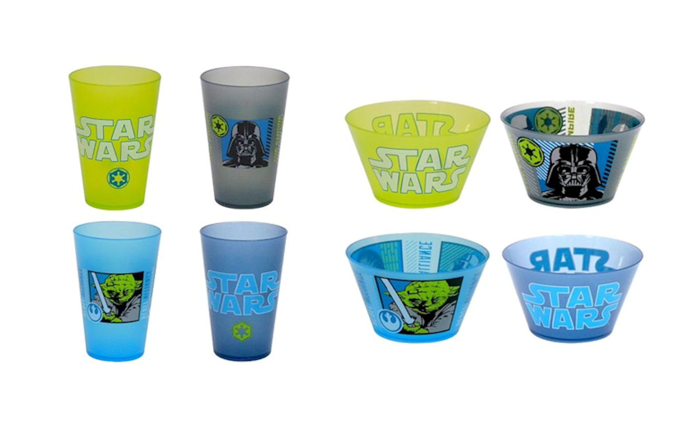 Star Wars Snack Set Melamine Bowl and Cup