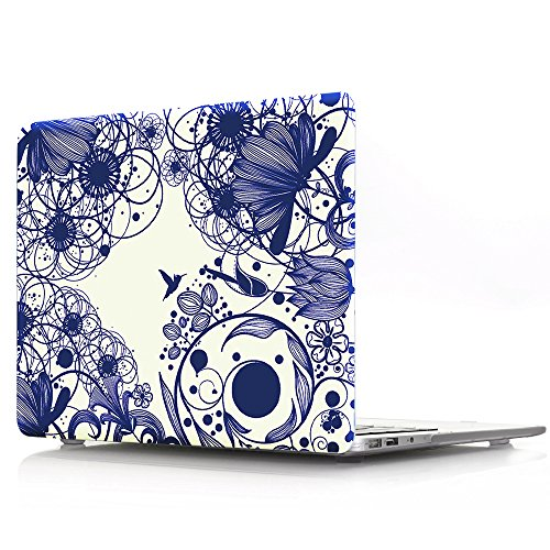 ProElife 2 in 1 Premium PC Hard Case Protector plus a Customized Keyboard Cover as Gift for Macbook Pro 13