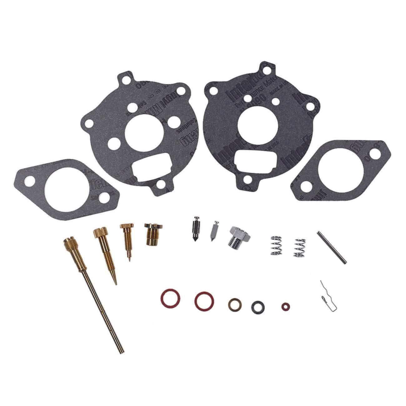 FidgetKute Carburetor Repair Rebuild Kit for Briggs & Stratton 190430 190431 190432