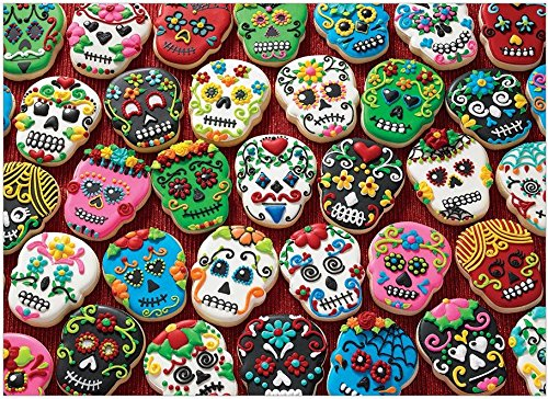 COBBLE HILL Sugar Skull Cookies Jigsaw Puzzle (1000 Piece)