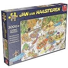 Jan Van Haasteren Wild Water Rafting Jigsaw Puzzle (3000 Pieces)