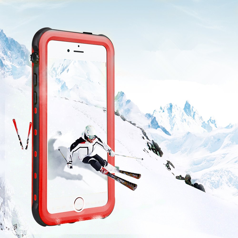 Full Sealed Case with Built-in Screen Protector for iPhone 5 5S SE iPhone 5 5S SE Waterproof Case IP68 Certified Waterproof Shockproof Dirtproof Snowproof Heavy Duty Protective Cover