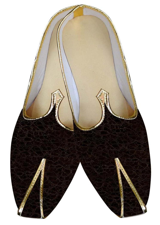 INMONARCH Borgoña Hombres Boda Zapatos enroscado MJ015827 41 EU