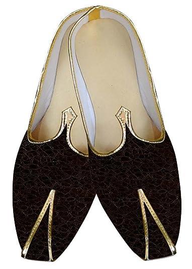 Mens Burgundy Wedding Shoes Threaded MJ015827