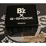 B'z G-SHOCK DW-5600 LIMITED MODEL 30th Year Exhibition SCENES ブラック Gショック 稲葉浩志 松本孝弘
