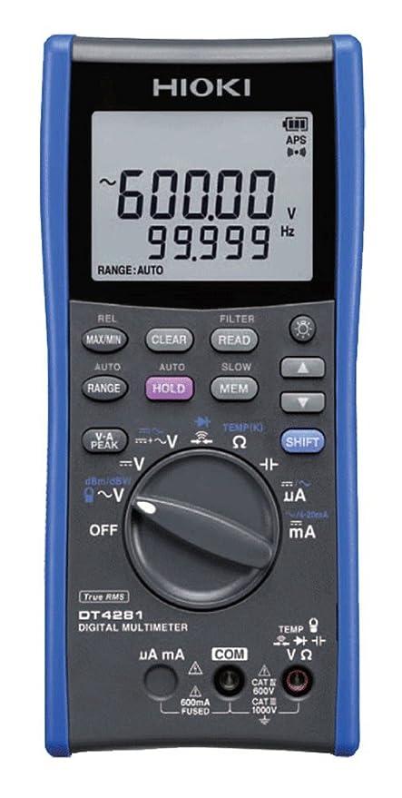 Amazon com: Hioki DT4281 Digital Multimeter High-End Model