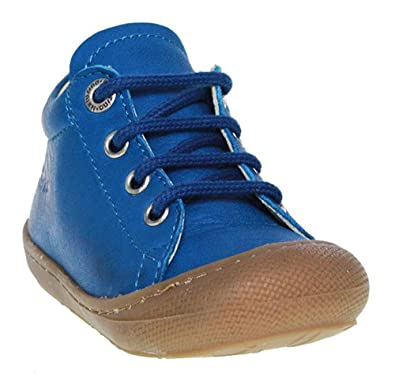 Falcotto Chaussures À Lacets Garçon Bleu, 24