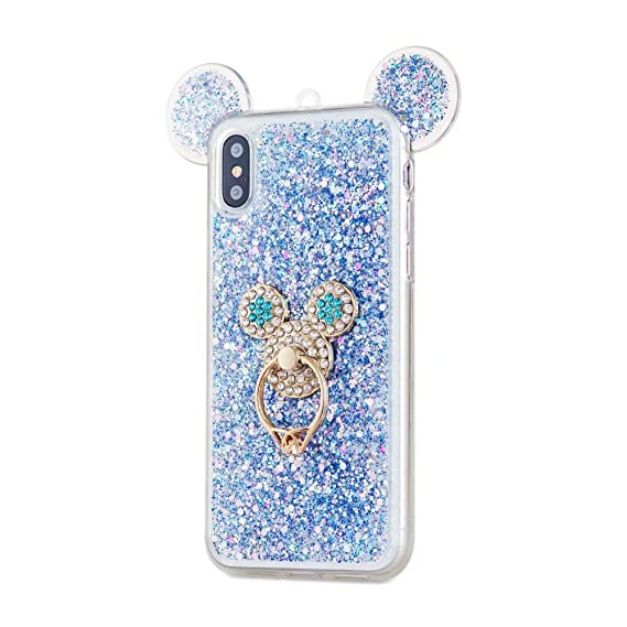 5373686b6be65 Amazon.com: iPhone Xr Case,iPhone Xr Cartoon Mouse Ears Case,Fashion ...