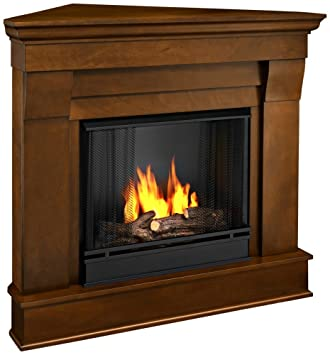 Buy Chateau Corner Gel Fireplace in Espresso: Gel & Ethanol Fireplaces - Amazon.com ? FREE DELIVERY possible on eligible purchases