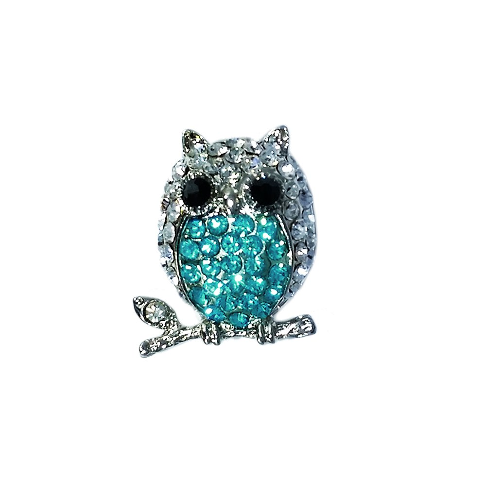 Telic Ice Bling Accessory for Telic Shoes Flip Flop (Owl)
