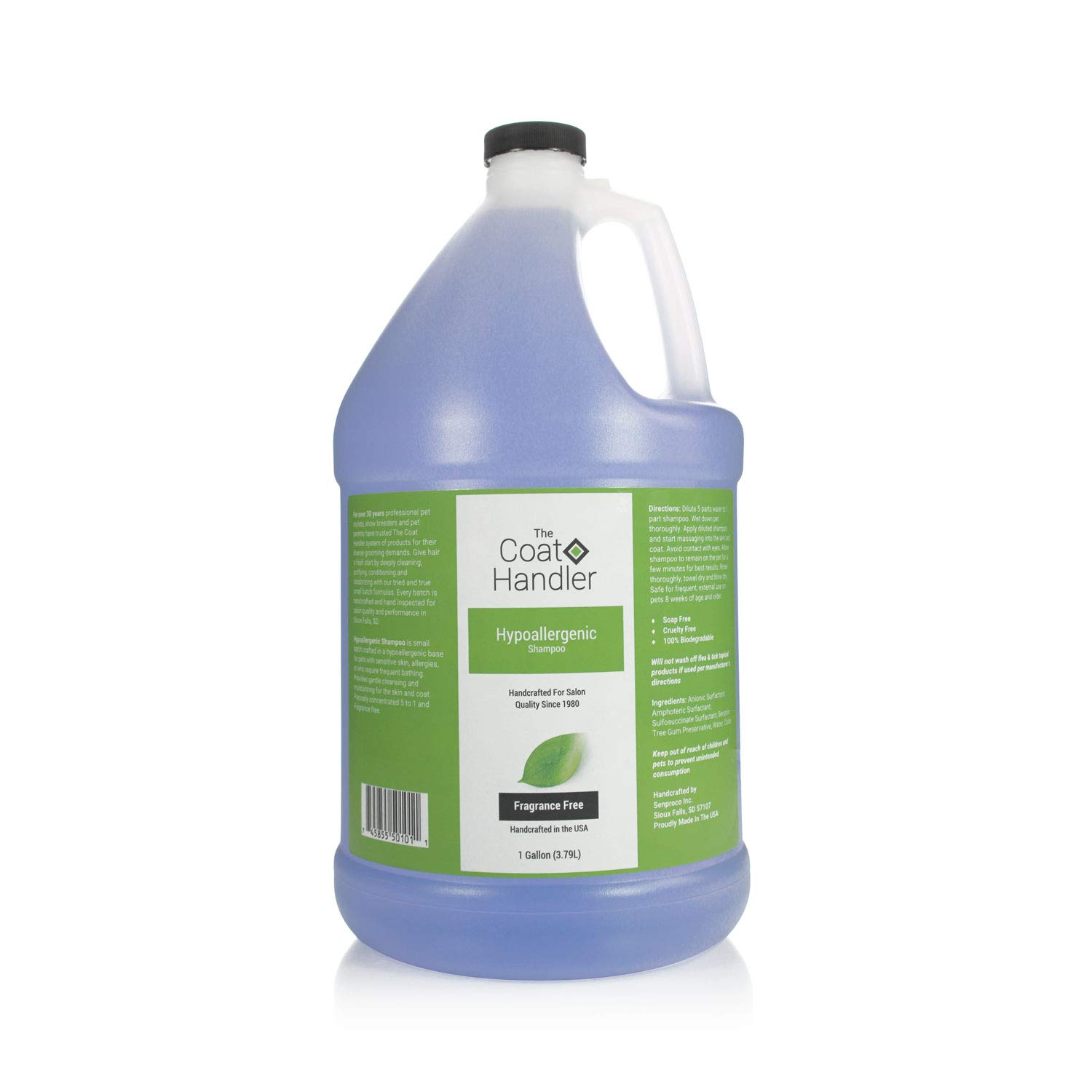 Coat Handler The Hypoallergenic Shampoo 1 Gallon