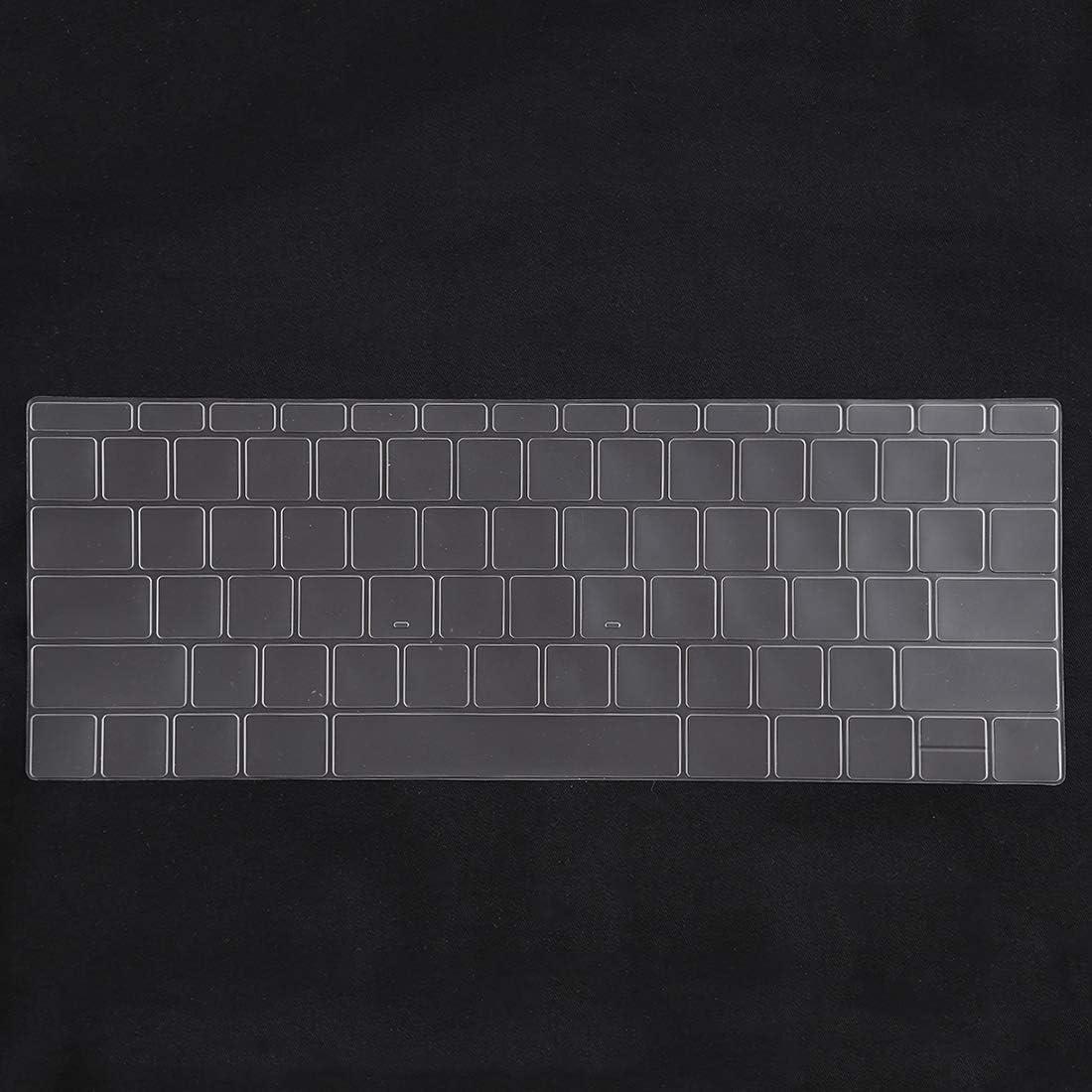 Color : Black A1534 // A1708 Black CellphoneMall Protectors Keyboard Protector Silica Gel Film for MacBook Retina 12 // Pro 13