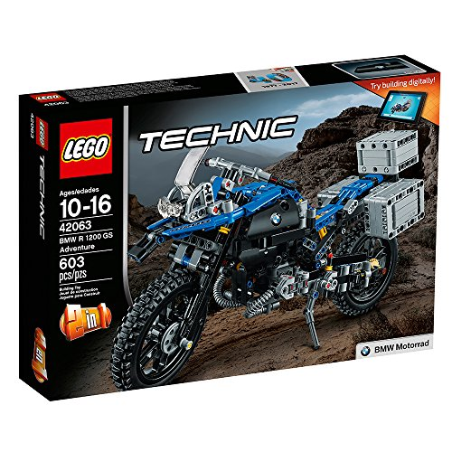 61dpPREjgpL - LEGO Technic BMW R 1200 GS Adventure 42063 Advanced Building Toy
