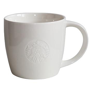 Starbucks Kaffeetasse Weiss Tasse Coffee Cup Mug Classic White