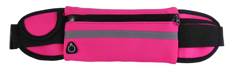 TERRA PEAK ウエストパック : 最高の快適ランニングベルト すべての電話モデルに適合 すべてのウエストサイズに対応 ランニング トレーニング サイクリング 旅行 マネーベルト その他 スタイリッシュな5色展開。 B07BRL16FX A-Pink